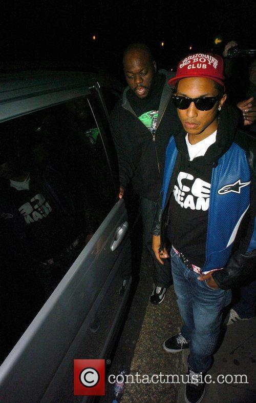 Pharrell Williams Billionaire Boys Club Fashion Launch Party...