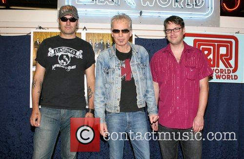 Billy Bob Thornton and the Boxmasters celebrate the...