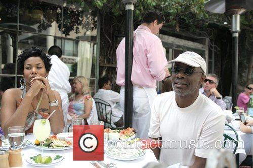 Bishop Noel Jones Has Lunch With A Friend At The Ivy 2