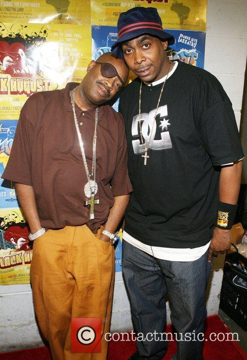 Slick Rick and Parrish Smith 2008 Black August...