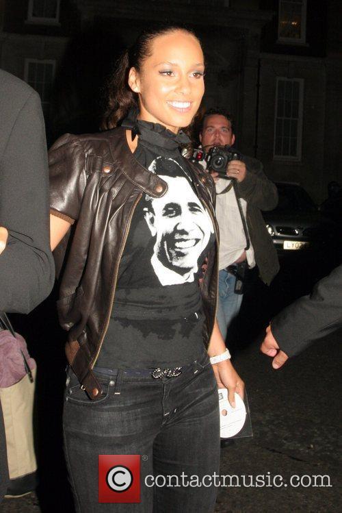 Alicia Keys Black Ball held at St. John's...