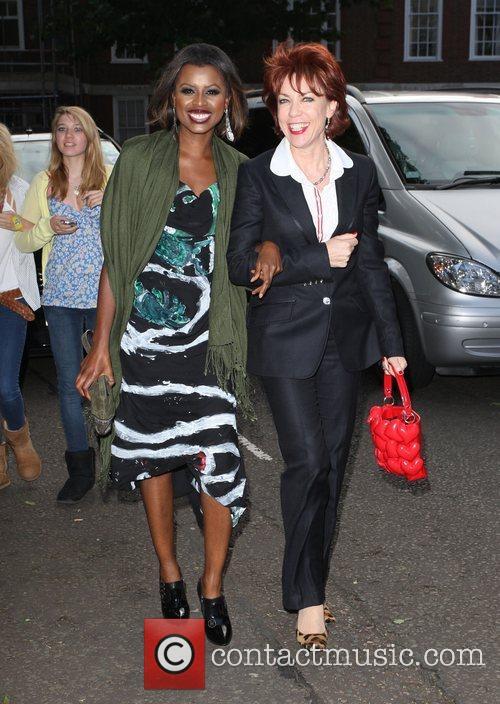 June Sarpong and Kathy Letts Black Ball UK...