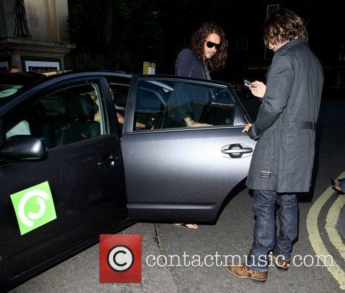 Russell Brand Black Ball UK in aid of...