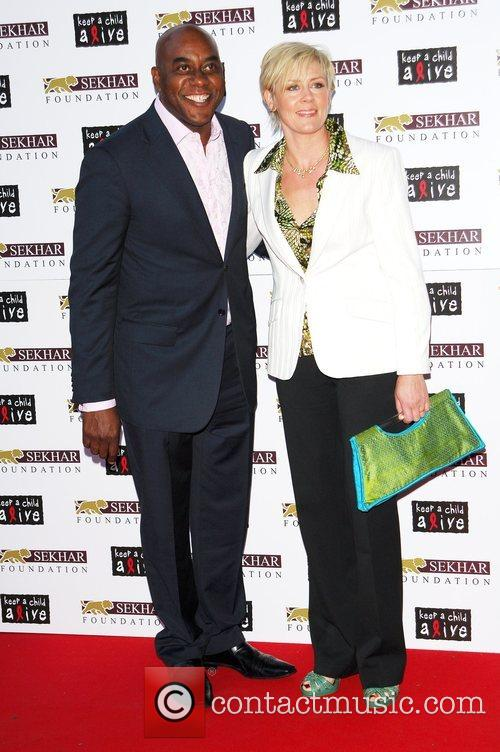 Ainsley Harriott and Clare Fellows 7