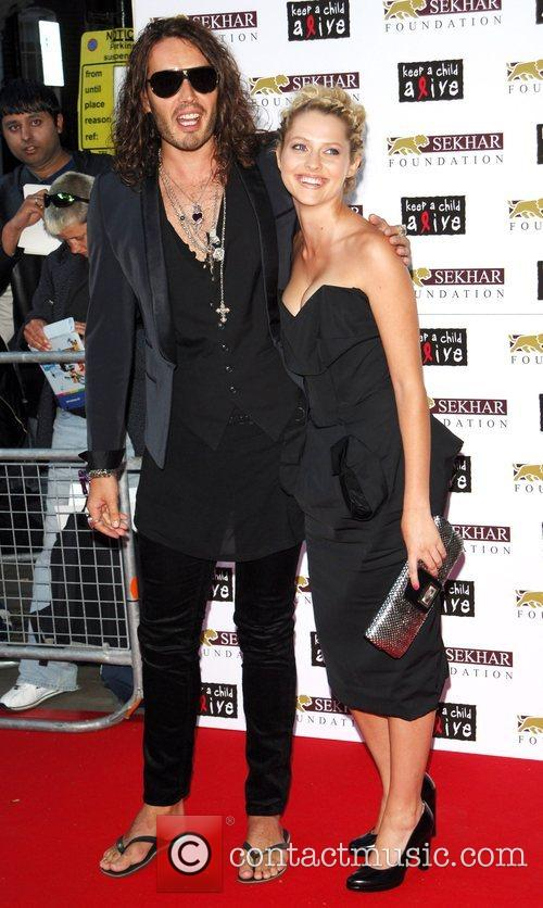 Russell Brand, Teresa Palmer Keep A Child Alive:...