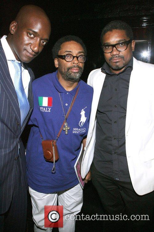 Rich Weiner, Spike Lee, and Marc Baptiste at...