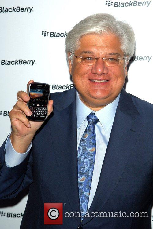 Mike Lazaridis Launch party of the BlackBerry Bold...