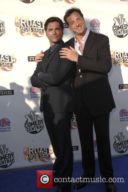 Bob Saget and John Stamos Comedy Central Roast...