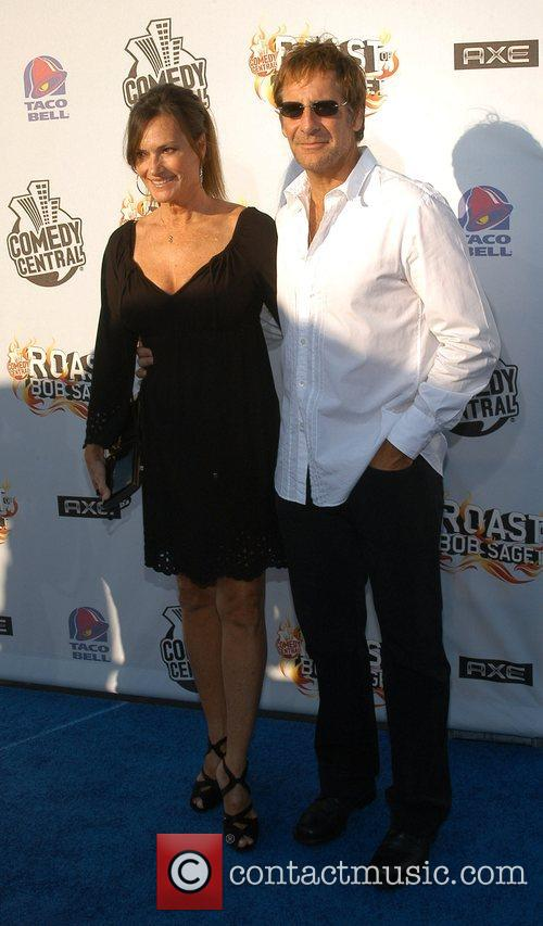 Scott Bakula and wife Chelsea Field Comdey Central...
