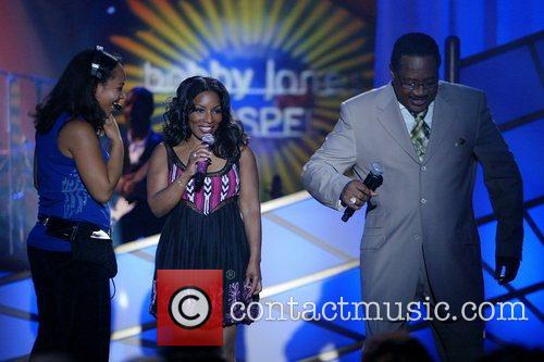 Stephanie Mills and Bobby Jones Taping of BET's...