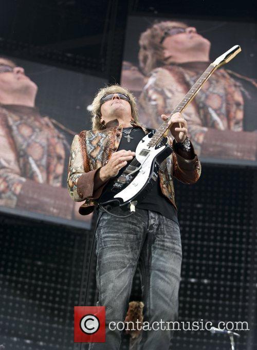 Bon Jovi performing live at the Ricoh Arena