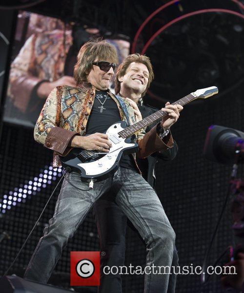 Richie Sambora and Jon Bon Jovi  Bon...