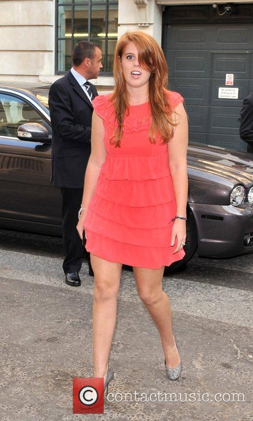 Princess Beatrice Boodles Wonderland Collection - launch party...