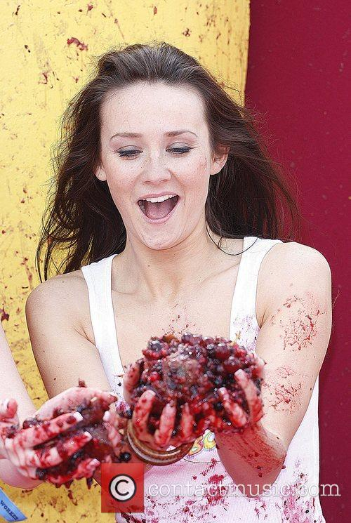 Claire Cooper Boosted Smoothies fruit fight held in...