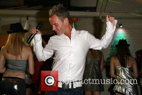 Performing at the HumanHi Party