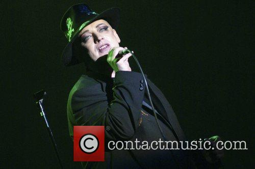 Boy George performs at the Luna Park Stadium