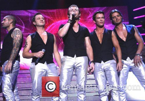 Shane Lynch, Ronan Keating and Stephen Gately 2