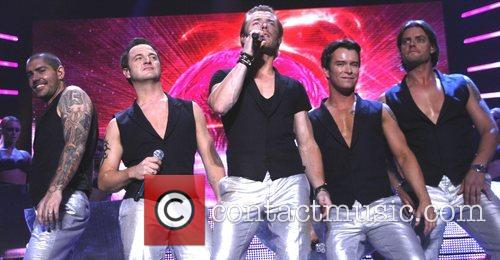 Shane Lynch, Ronan Keating and Stephen Gately 7