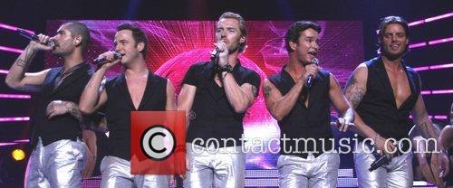 Shane Lynch, Ronan Keating and Stephen Gately 1
