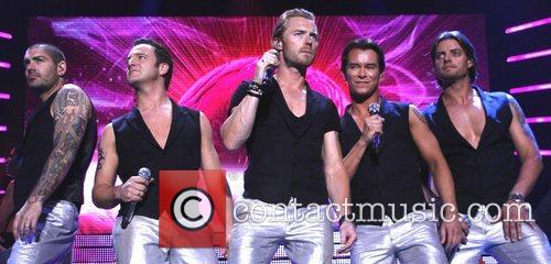 Shane Lynch, Ronan Keating and Stephen Gately 11
