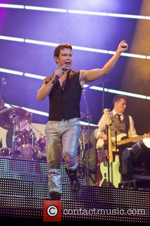 Boyzone performs at the O2 Arena
