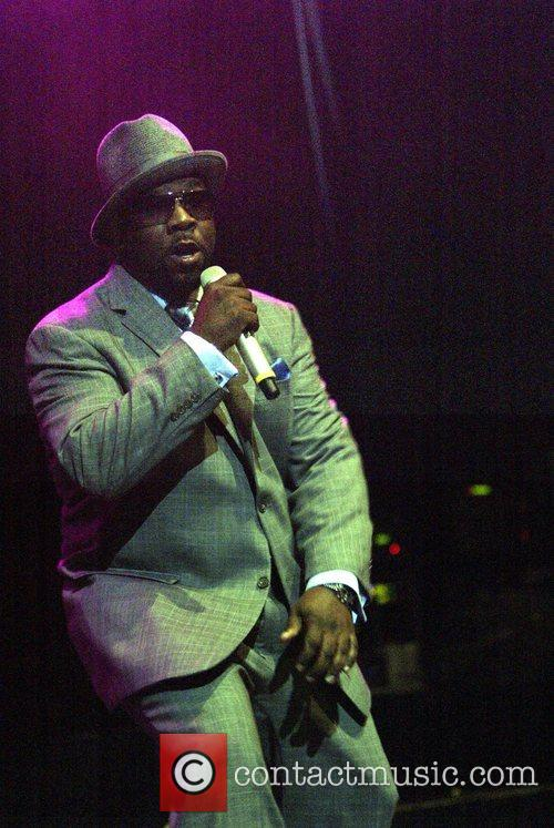 Boyz II Men performing live in concert at...