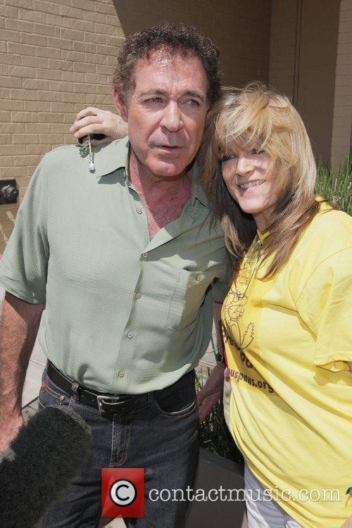 Barry Williams and Susan Olsen of 'The Brady...