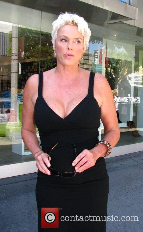 Brigitte Nielsen Goes Shopping At Kitson Boutique On