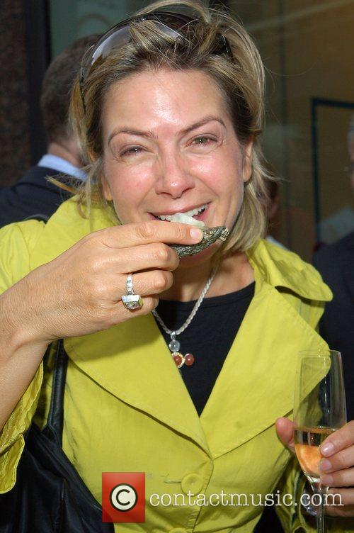 Penny Smith Tabasco British Oyster Opening Championship at...