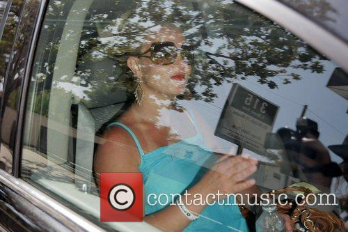 Britney Spears leaving Lisa Kline boutique in Beverly...