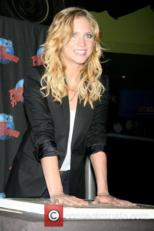 Brittany Snow promotes her new movie 'Finding Amanda'...