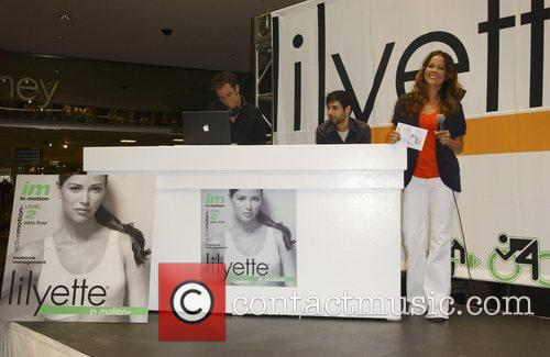 Launches Lilyette Sports Bras at the Glendale Galleria...