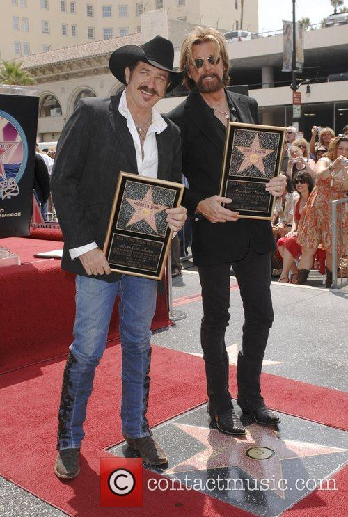 Kix Brooks, Star On The Hollywood Walk Of Fame and Walk Of Fame 1