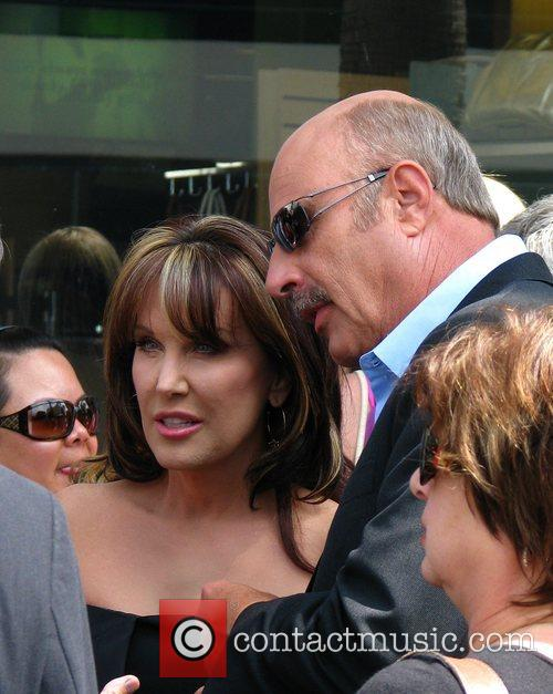 Dr Phil Mcgraw, Phil Mcgraw, Star On The Hollywood Walk Of Fame and Walk Of Fame 4