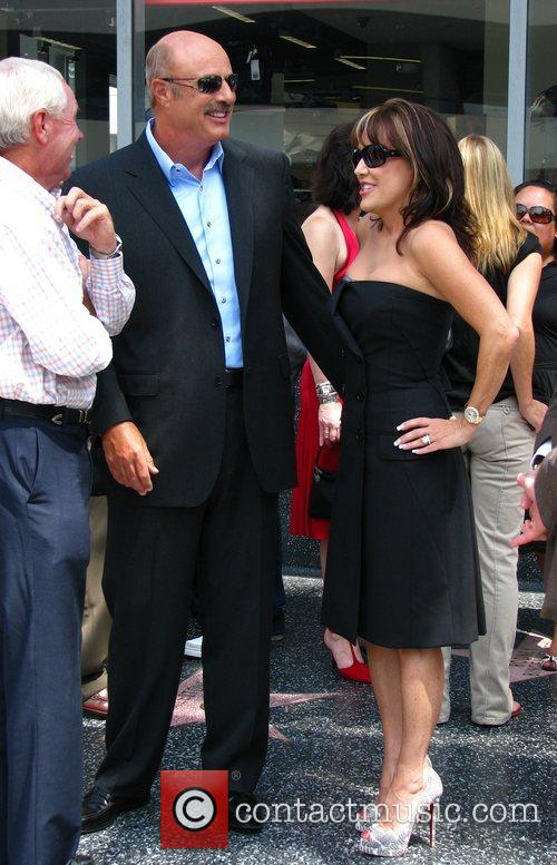 Dr Phil Mcgraw, Phil Mcgraw, Star On The Hollywood Walk Of Fame and Walk Of Fame 1
