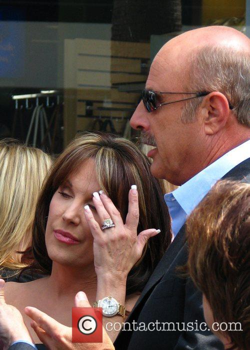 Dr Phil Mcgraw, Phil Mcgraw, Star On The Hollywood Walk Of Fame and Walk Of Fame 9