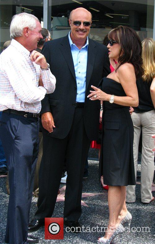 Dr Phil Mcgraw, Phil Mcgraw, Star On The Hollywood Walk Of Fame and Walk Of Fame 6