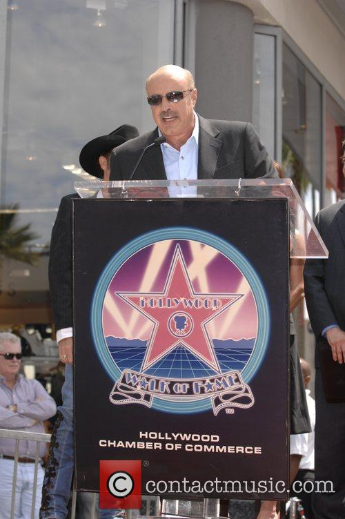 Dr Phil, Hollywood Walk of Fame