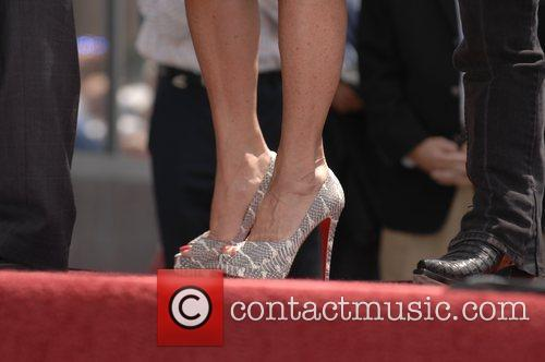 Robin Mcgraw and Walk Of Fame 2