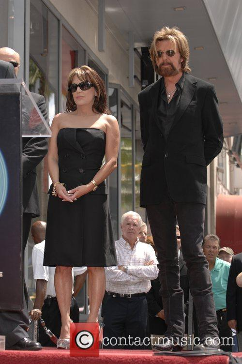 Robin Mcgraw, Ronnie Dunn and Walk Of Fame 3