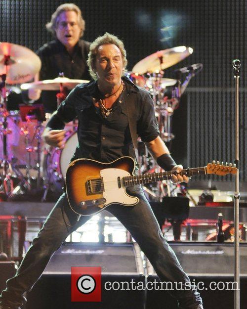 Bruce Springsteen Power Stance