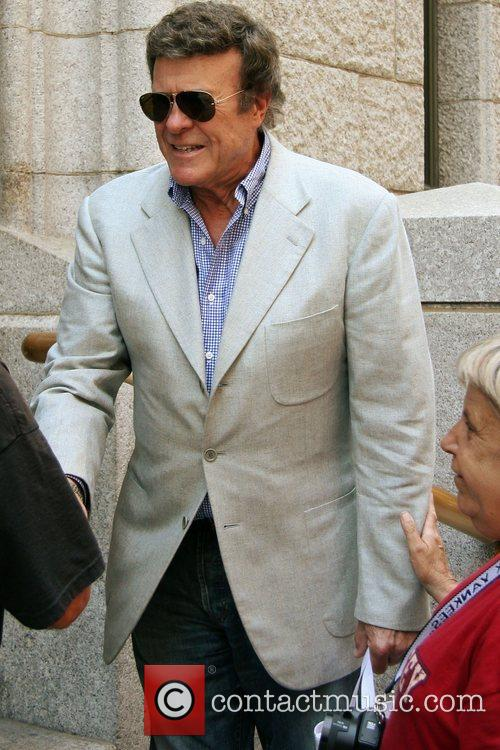 American radio personality Bruce Morrow outside ABC studios...