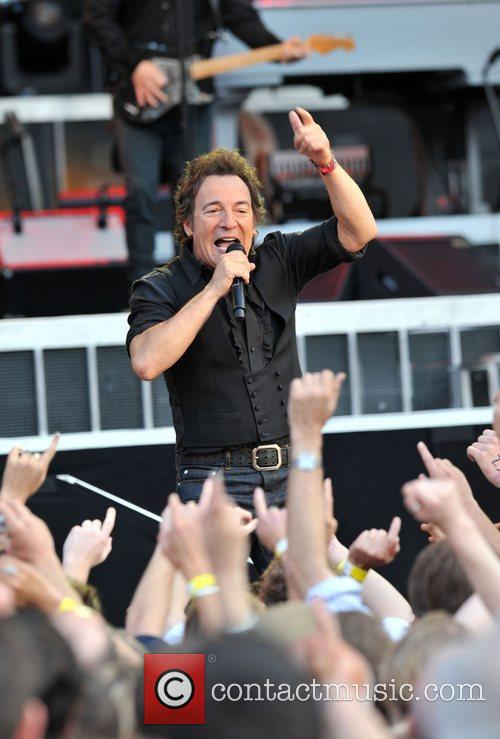Bruce Springsteen live at the Emirates Stadium