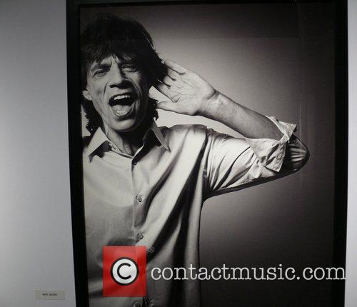 Mick Jagger photographed by Bryan Adams Opening of...