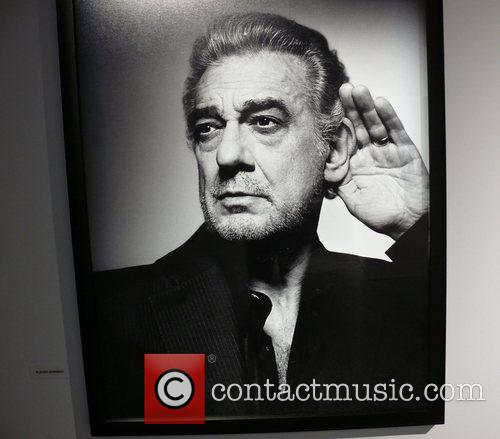Placido Domingo photographed by Bryan Adams Opening of...