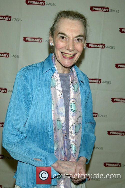 Marian Seldes attending the opening night party for...