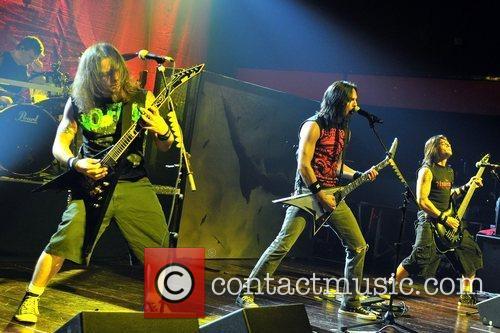 Bullet For My Valentine  perform at Revolution...