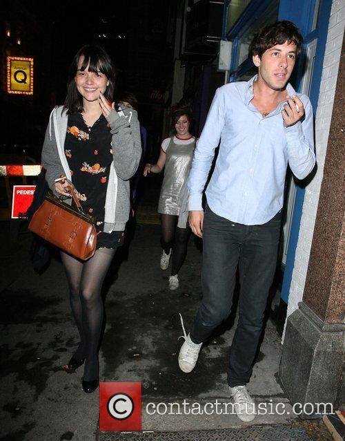 Mark Ronson arrives at Bungalow 8 Nightclub with...