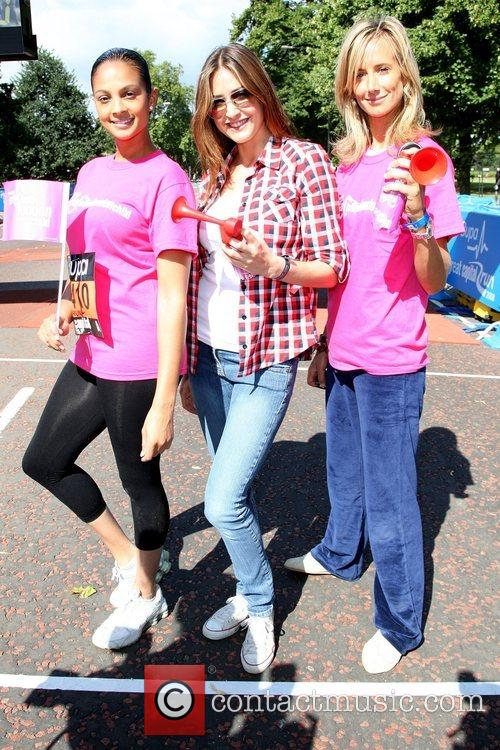 Alesha Dixon, Lisa Snowdon, Lady Victoria Hervey BUPA...