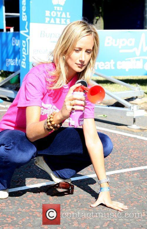 Lady Victoria Hervey BUPA Great Capital Run 10k...